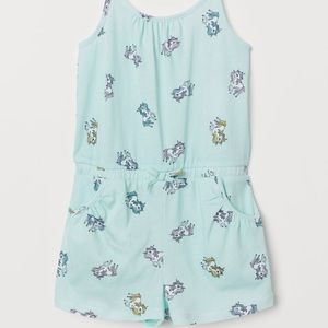 H&M | Unicorn Jumpsuit - 6-8Y